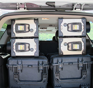 ORTEC Detective-200 Mobile Wide Area Radiation Search System